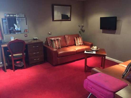 Best Western Gibside Hotel : Living area junior suite