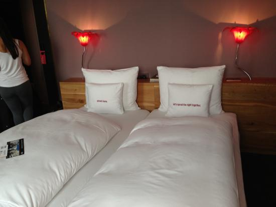 Confort vel hotel boutique picture of 25hours hotel for Design boutique hotels waldeck hessen