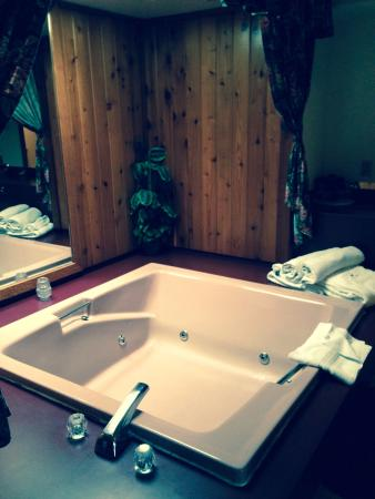 Crescent Lodge & Country Inn : Jacuzzi
