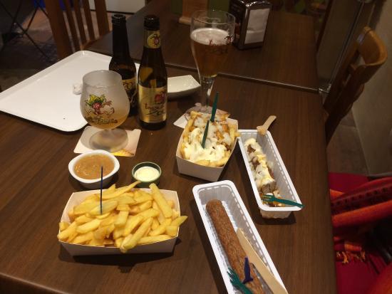 Op11 Taberna Frituur Belga: Prima voedsel!