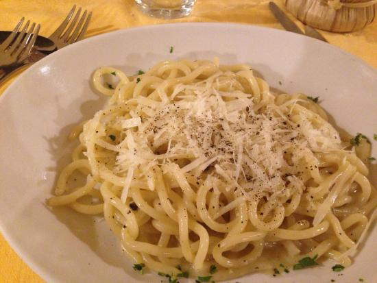 Don Beta : Pici cacio e pepe