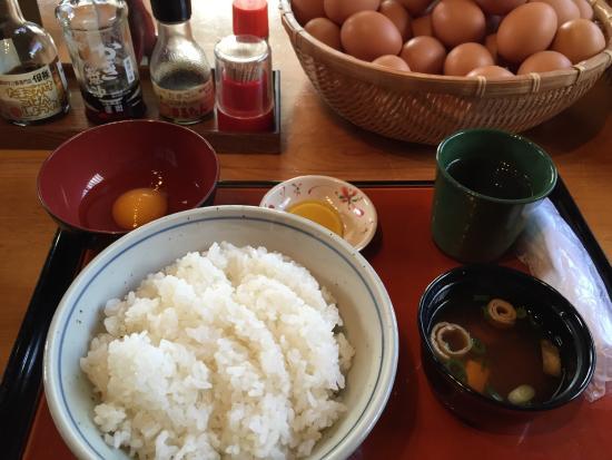 豊岡 卵 かけ ご飯 但熊 卵かけご飯定食(豊岡市但東町)兵庫B級グルメ