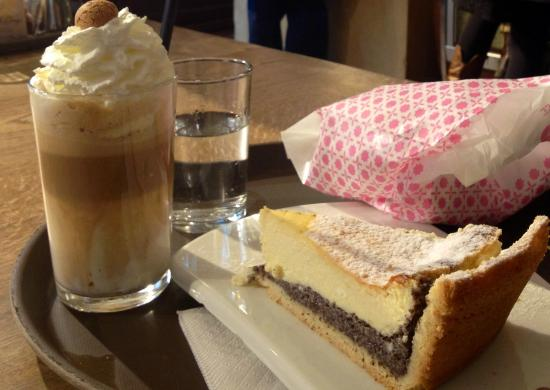 Pano: Poppy seed cake and a hot toffee