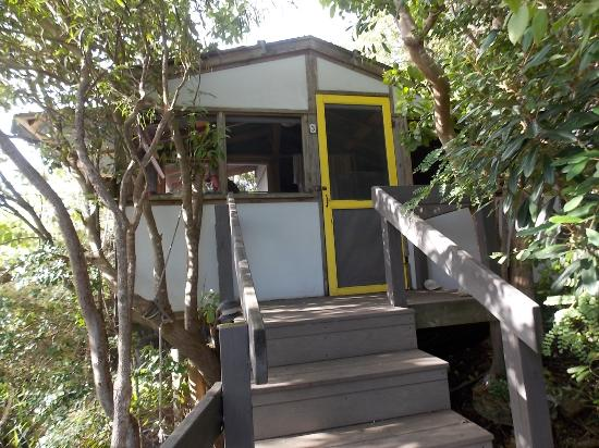 Virgin Islands Campground : Our hut for the week