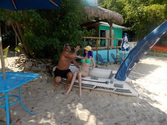 Virgin Islands Campground: Duane's new women