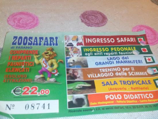 Fasano, Italy: biglietto ed attrazioni incluse nel prezzo