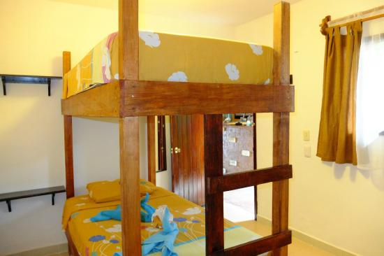Pacha Tulum: Room with bunk bed