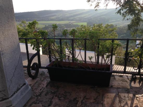 Hotel Los Olivos: Panoramic view, soft and undulating landscape