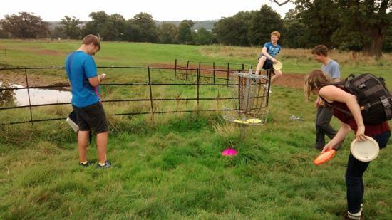 Ashton Court Disc Golf Course : Playing 1