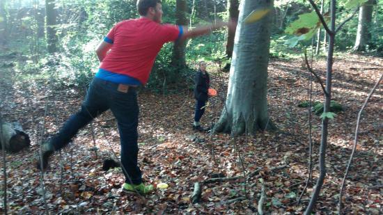 Ashton Court Disc Golf Course : Playing 3