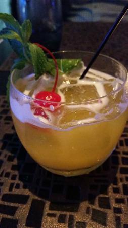 Zest Restaurant: Juju cocktail - tasted like a grapefruit mojito