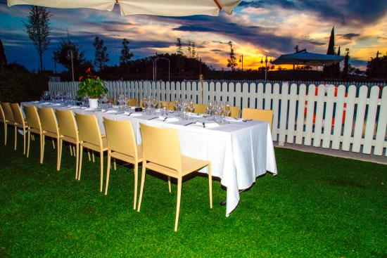 Chianti Village Morrocco : Cena bordo Piscina / Dinner by the Pool