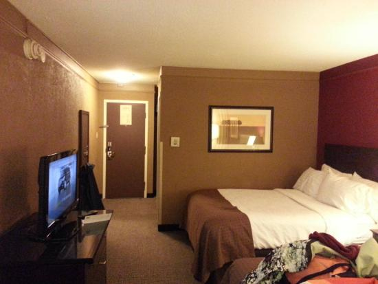 Holiday Inn Strongsville: Our Room at the Strongsville Holiday Inn