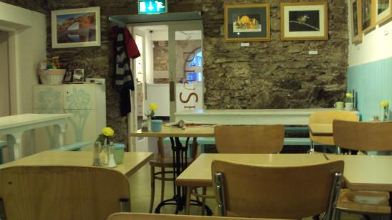 D'lush Cafe: Interior of Café Dlush