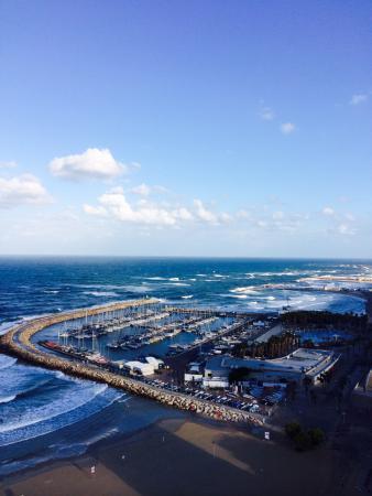 Renaissance Tel Aviv Hotel : View of marina from 15th floor