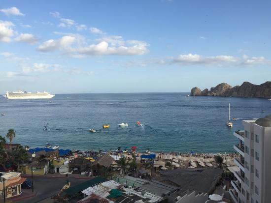 Cabo Villas Beach Resort: View from the top of the resort