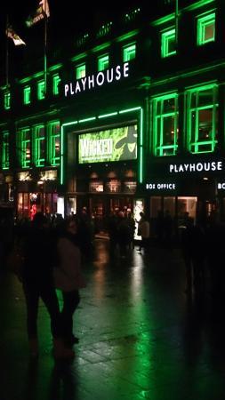 Edinburgh Playhouse : The green playhouse!!