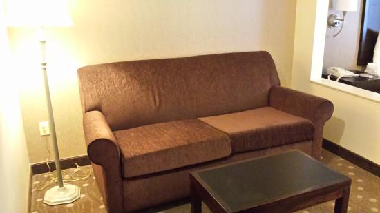 Comfort Inn  - Pittsburgh / Steubenville Pike: A little living room
