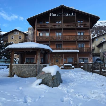 Hotel Galli: Visto davanti