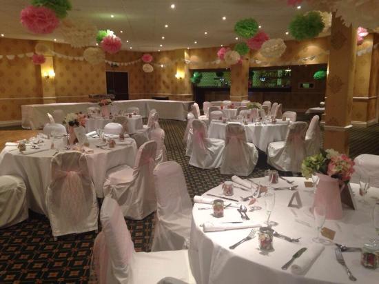 Mercure Stafford South Hatherton House Hotel: Wedding