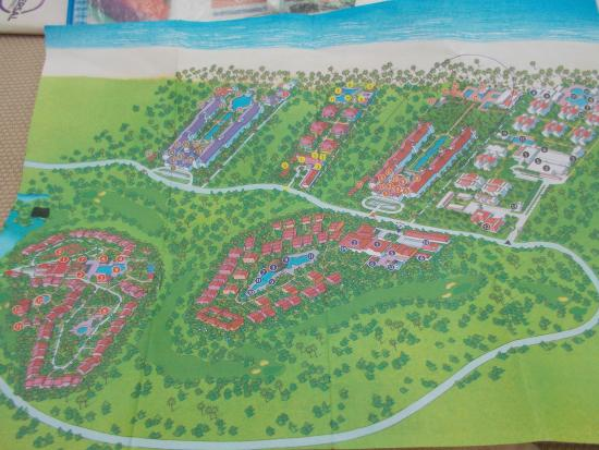 Map Of Playacar RIU Resorts - Picture of Hotel Riu Palace Mexico ...