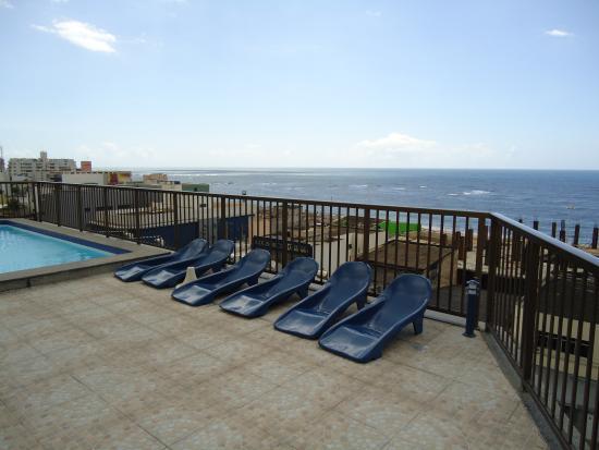 Golden Park Hotel: Vista Terraço