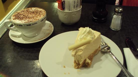 Jam: Cappuccino and Bailey's Cheese Cake!