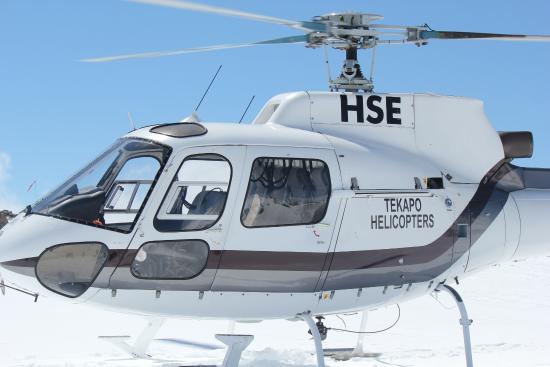 Tekapo Helicopters -  Tours : Lake Tekapo Heli tour -3-