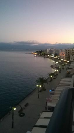 Lucy Hotel: Вид из номера на море