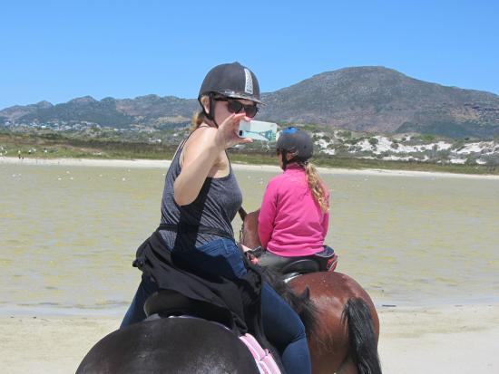 Sleepy Hollow Horse Riding: Beach Ride Sleepy Hollow Noordhoek