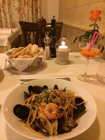 Sartori's Hotel : Spaghetti allo scoglio ��