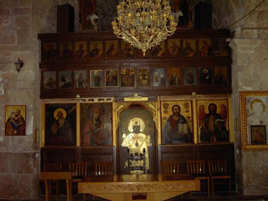 Chrysopolitissa-Kirche: Church interior