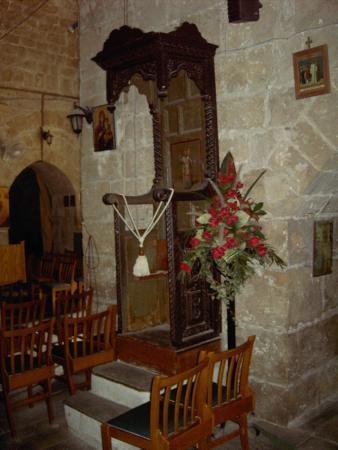 Chrysopolitissa-Kirche: Pulpit