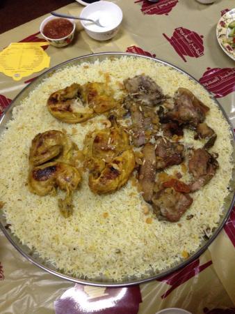 Mandi picture of saudi kitchen restaurant abu dhabi for Abu authentic cuisine