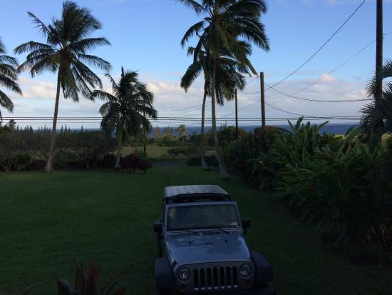 The Guest Houses at Malanai in Hana : View from the lanai