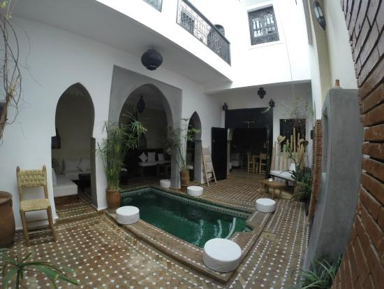Riad Shambala: Patio