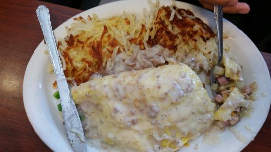 Corky's Kitchen & Bakery: Corky's omelette