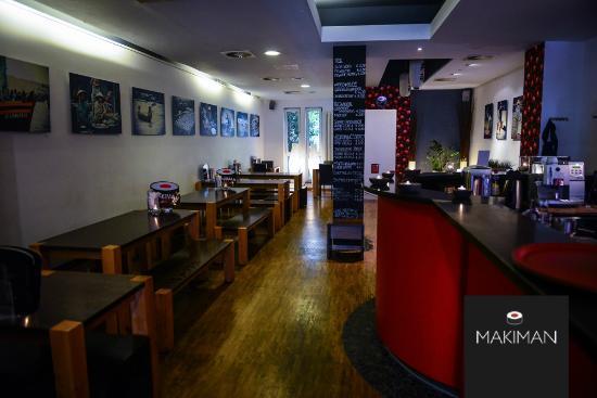 Makiman Restaurant: Makiman 1 Gastraum