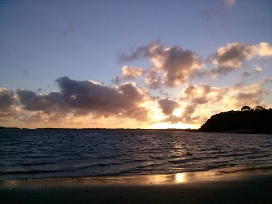 Whatuwhiwhi TOP 10 Holiday Park: Whatuwhiwhi beach sunset