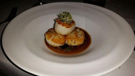 Terrapin Restaurant: Scallops.
