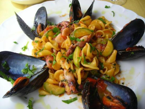 La Cornucopia : trofie ai frutti di mare