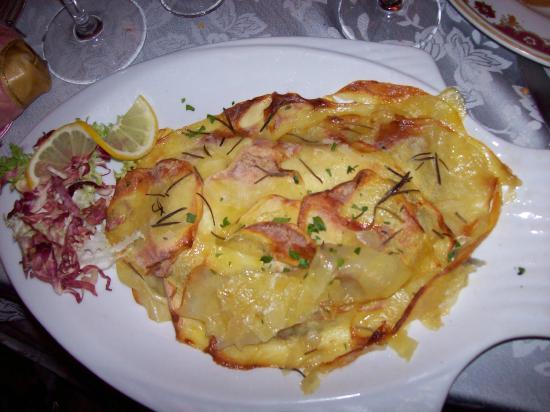 La Cornucopia : rombo in crosta di patate