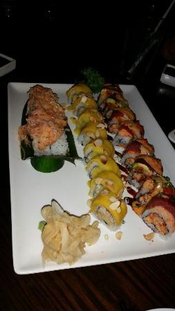Osaka Japanese Restaurant : Sushi rolls