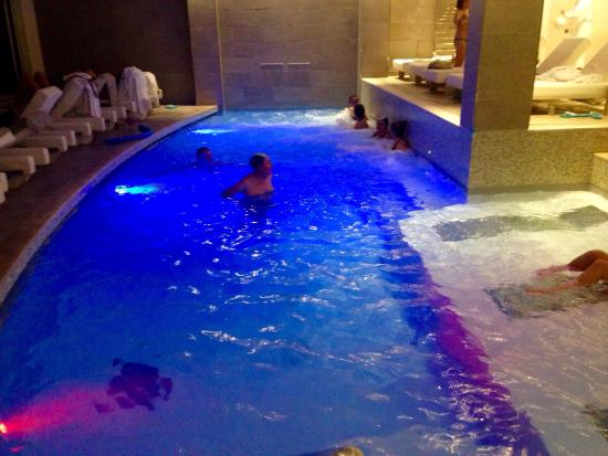 Hotel Olivi Thermae & Natural Spa : Piscina interna