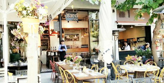 Yard all day bar restaurant