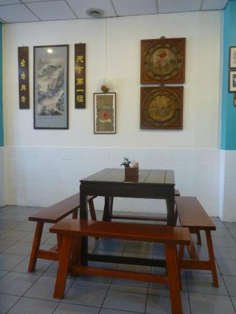 Kopitiam by Wilai: table