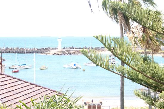 The Boat Harbour Motel : view from room