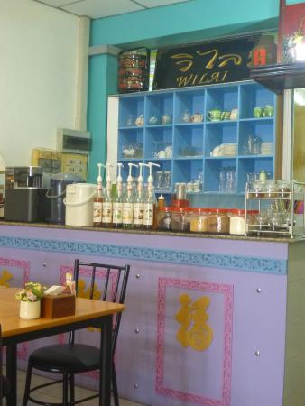 Kopitiam by Wilai: counter