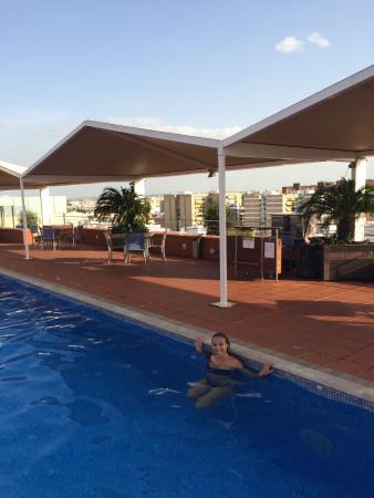 Novotel Sevilla : Rooftop swiming pool