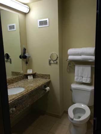 Route 66 Casino Hotel: Bathroom